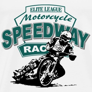 Motorcycle Speedway Racing Tops - Men's Premium T-Shirt