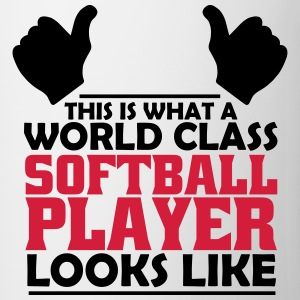 world class softball player T-Shirts - Mug