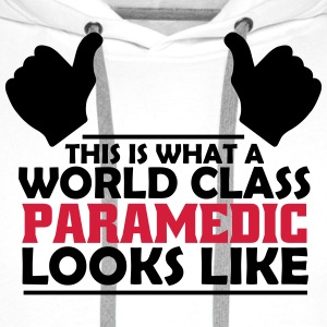 world class paramedic T-Shirts - Men's Premium Hoodie