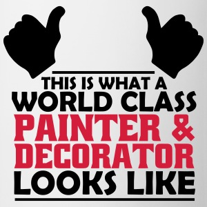 world class painter & decorator T-Shirts - Mug