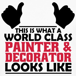 world class painter & decorator T-Shirts - Men's Premium Longsleeve Shirt