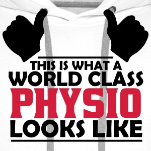 world class physio T-Shirts - Men's Premium Hoodie
