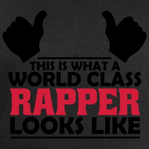 world class rapper T-Shirts - Men's Sweatshirt by Stanley & Stella