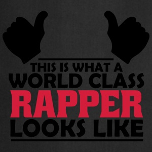 world class rapper T-Shirts - Cooking Apron