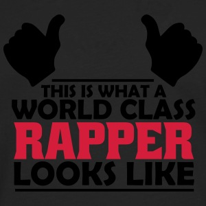 world class rapper T-Shirts - Men's Premium Longsleeve Shirt