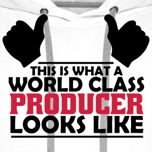world class producer T-Shirts - Men's Premium Hoodie