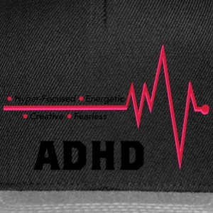 ADHD - no excuses - Snapback-caps