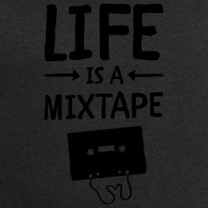 Life Is A Mixtape Mugs & Drinkware - Men's Sweatshirt by Stanley & Stella