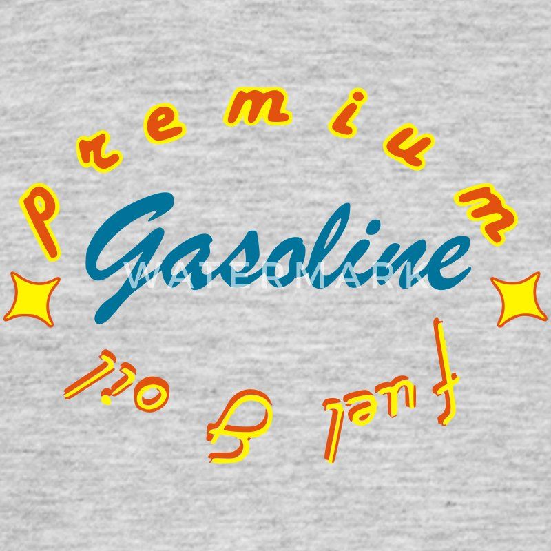 gasoline Tee shirts - T-shirt Homme