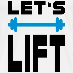 Let's Lift - Men's Premium T-Shirt
