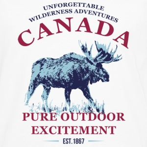 CANADA MOOSE Hoodies & Sweatshirts - Men's Premium Longsleeve Shirt