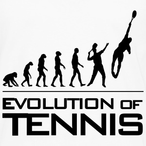 Evolution of Tennis - T-shirt manches longues Premium Homme