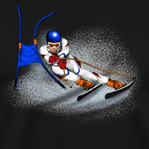 Ski Long Sleeve Shirts - Men's Premium T-Shirt