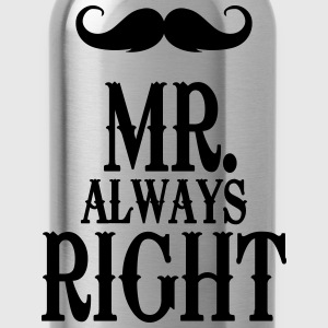 Sky Mr. always right T-Shirts - Water Bottle
