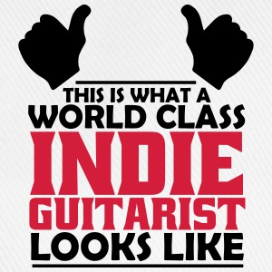 world class indie guitarist T-Shirts - Baseball Cap