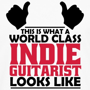 world class indie guitarist T-Shirts - Men's Premium Longsleeve Shirt
