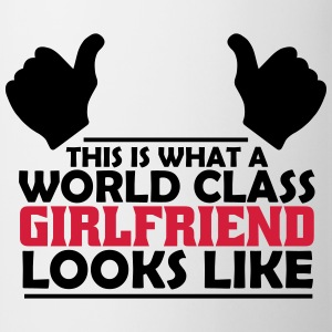 world class girlfriend T-Shirts - Mug