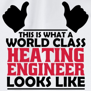 world class heating engineer T-Shirts - Drawstring Bag