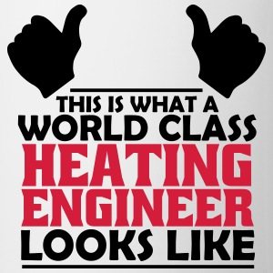 world class heating engineer T-Shirts - Mug