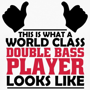 world class double bass player T-Shirts - Men's Premium Longsleeve Shirt