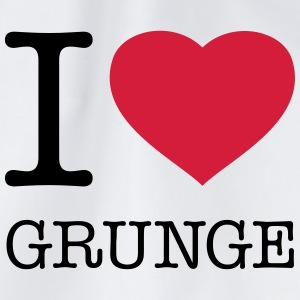 I LOVE GRUNGE - Turnbeutel