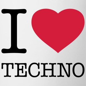 I LOVE TECHNO - Kop/krus