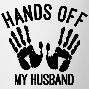 hands off my husband Tops - Tasse