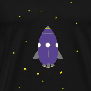 Purple rocket Other - Men's Premium T-Shirt