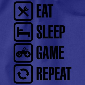 Eat sleep game repeat Sweaters - Gymtas