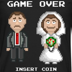 Marriage - Game Over T-Shirts - Men's Premium Longsleeve Shirt