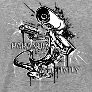 Paranoia Activity Toppe - Herre premium T-shirt