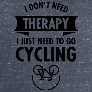 I Don't Need Therapy - I Just Need To Go Cycling T-shirts - Herresweatshirt fra Stanley og Stella