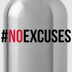 No Excuses  Sudaderas - Cantimplora