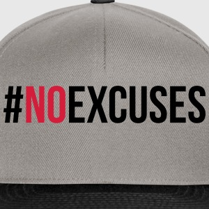 No Excuses  Sweat-shirts - Casquette snapback