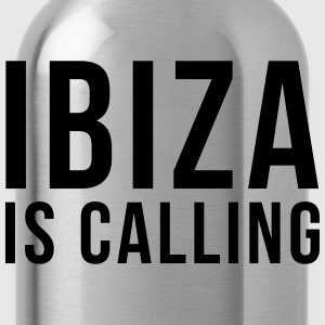 Ibiza Is Calling 2 T-shirts - Drinkfles