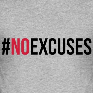 No Excuses  Sweaters - slim fit T-shirt