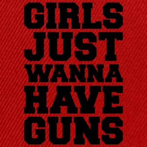 Girls Have Guns Tops - Snapback Cap