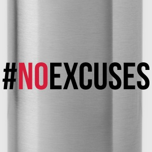 No Excuses  Caps & Hats - Water Bottle
