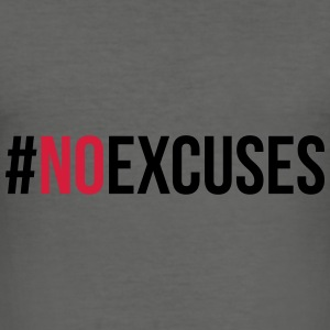No Excuses  Tassen & rugzakken - slim fit T-shirt