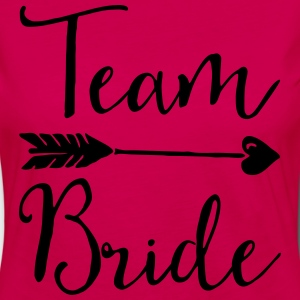 Sugar Team Bride T-Shirts - Frauen Premium Langarmshirt