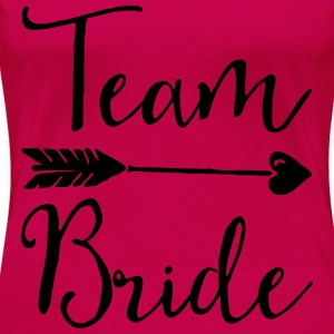 Sugar Team Bride Tops - Frauen Premium T-Shirt