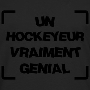 Hockey sur glace / Hockeyeur / Patinoire / Patins Tee shirts - T-shirt manches longues Premium Homme
