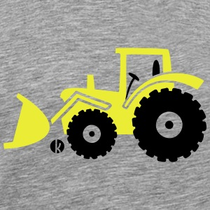 Tractor front loader Bulldog wheel loader with bucket Sweat-shirts - T-shirt Premium Homme