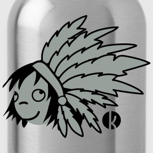 Indian Chief - Indian Shirts - Water Bottle