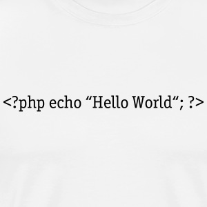 PHP Hello World Tops - Männer Premium T-Shirt