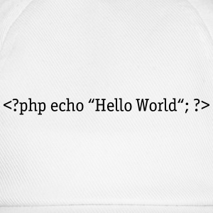 PHP Hello World Tee shirts - Casquette classique