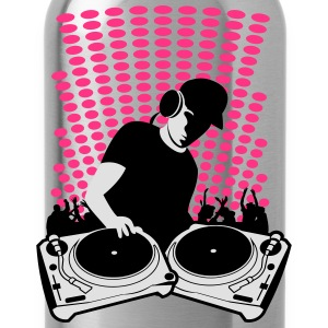 DJ turntables Shirts - Drinkfles