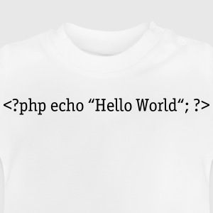 PHP Hello World Sweaters - Baby T-shirt