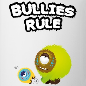 Bullies rule T-shirts - Mugg
