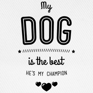 my dog is best Pullover & Hoodies - Baseballkappe